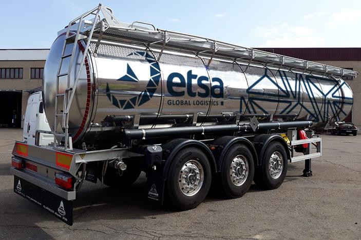 ETSA transporte productos químicos